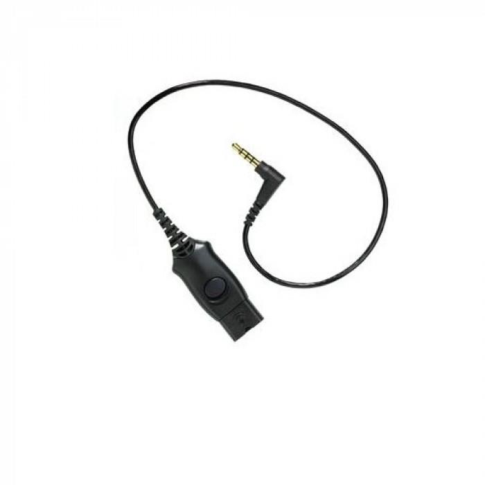 Image of Plantronics 38541-02 Cable, Mo300, Qd To 3.5mm Connects H-top To Iphone & Blackberry
