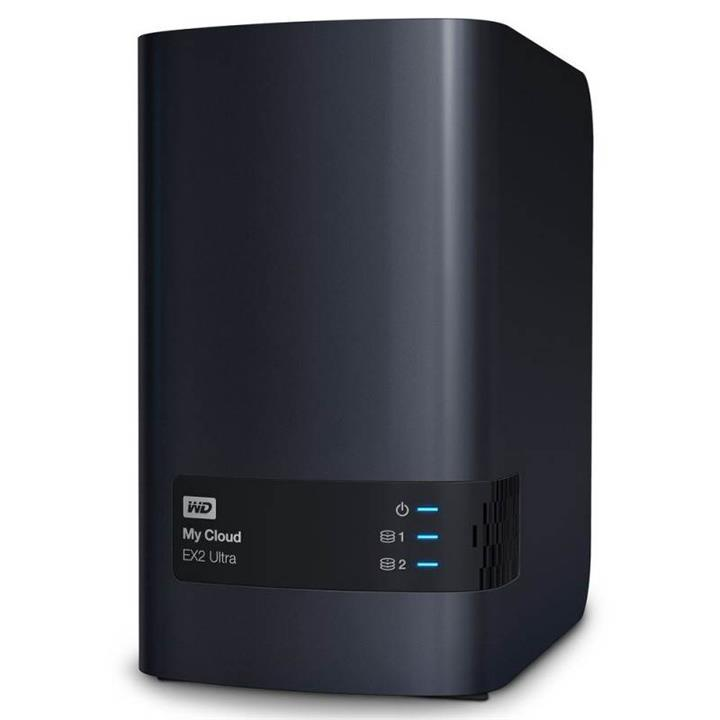 Image of Wd My Cloud Ex2 Ultra 2-bay Hotswap Diskless Nas 1.3ghz Dual-core 1gb Ram