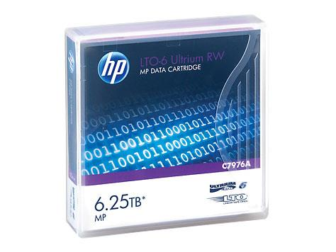Image of Hp Lto-6 Ultrium 6.25tb Mp Rw Data Cartridge - C7976a