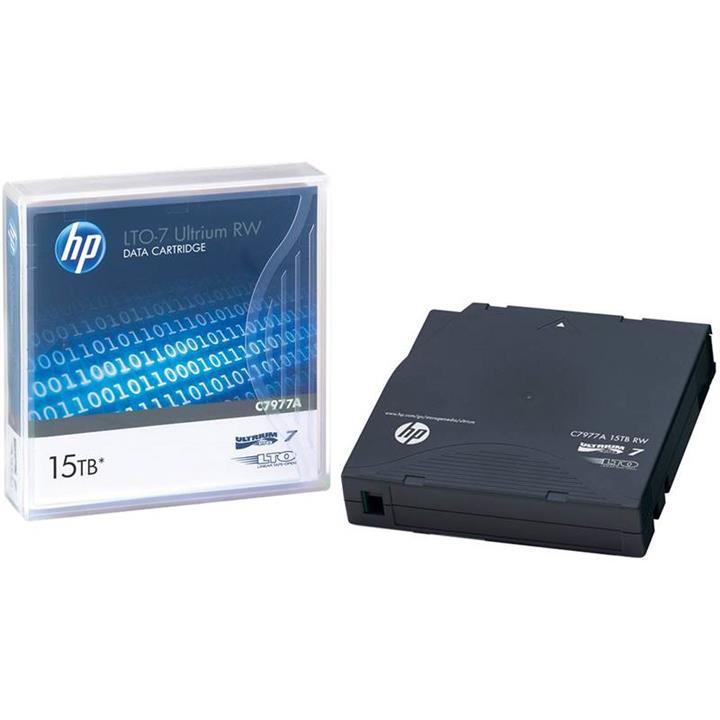 Image of Hp Storeever Lto-7 Ultrium 15000 15tb Rw Tape Cartridge C7977a