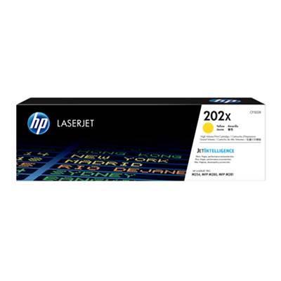 Image of Hp Cf502x 202x Yellow Laserjet Toner Cartridge