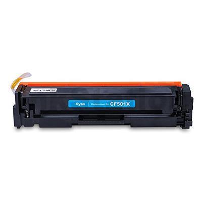 Image of Hp Cf501x 202x Cyan Laserjet Toner Cartridge