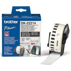 Image of Brother Dk-22214 Thermal Paper White Roll