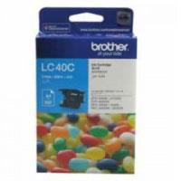 Image of Brother Lc-40c Cyan Ink Cart 300 Pages