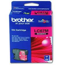 Image of Brother Lc-67m Magenta Ink Suits Dcp-385c