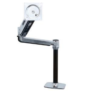 Image of Ergotron Lx Hd Sit-stand Desk Arm Heavy Monitor Mount