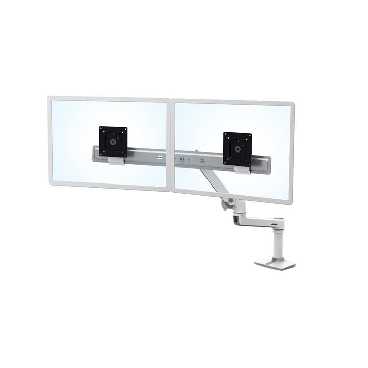 Image of Ergotron 45-489-216 Lx Dual Direct Desk Mount Arm White