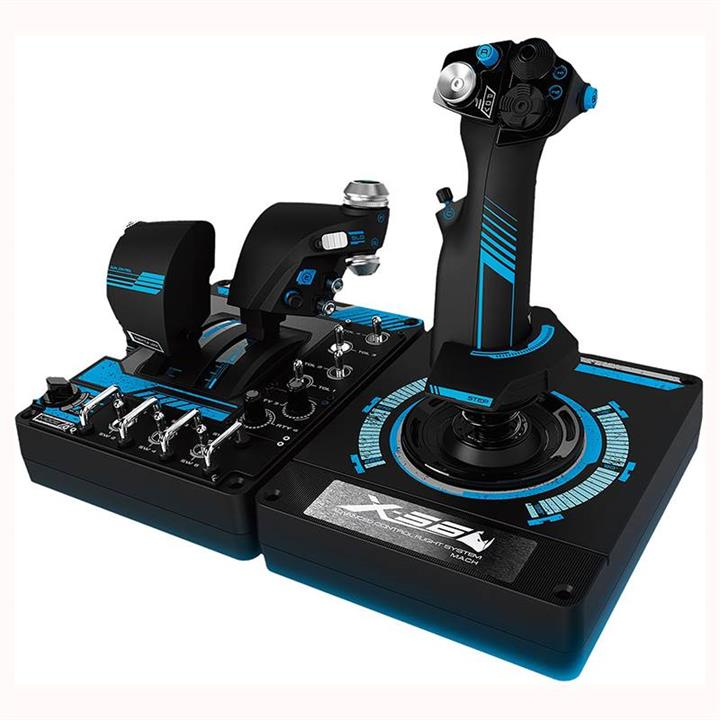 Image of Logitech G X56 H.o.t.a.s. Rgb Throttle And Stick Controller 945-000058