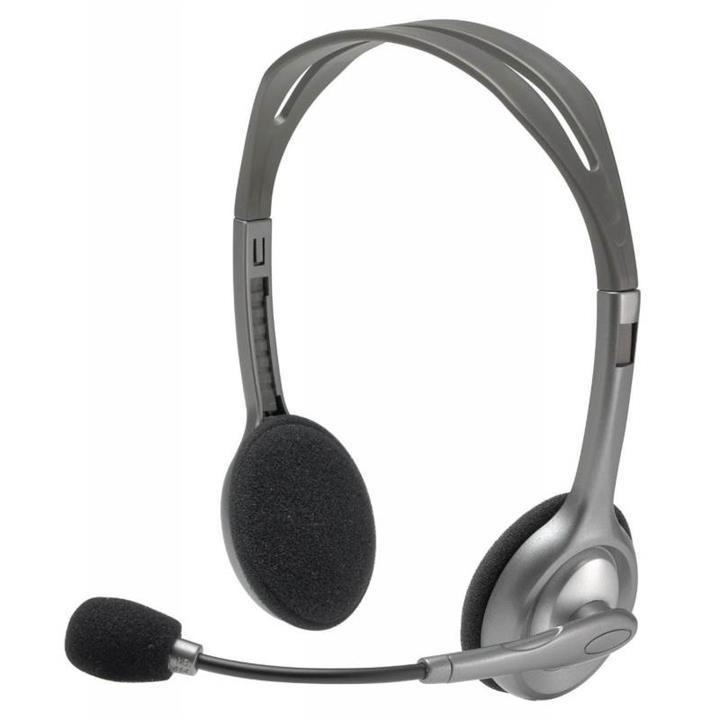Image of Logitech (981-000459) Stereo Headset H110