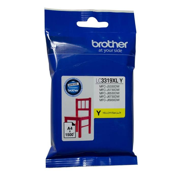 Image of Brother Lc-3319xly Yellow Super High Yield Ink-jet Cartridge