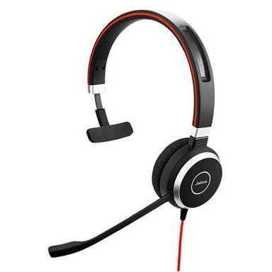 Image of Jabra Evolve 40 Uc Monohd Audio Headset