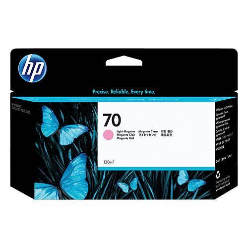 Image of Hp 70 130ml Light Magenta Ink Cartridge (c9455a)