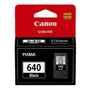 Image of Canon Pg640 Black Ink Cart Mg4160