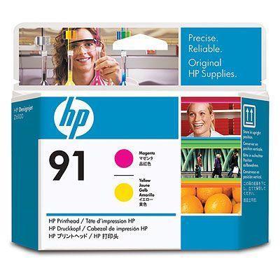 Image of Hp 91 Printhead 1 X Yellow Magenta (c9461a)