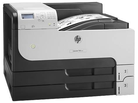 Image of Hp Laserjet Enterprise M712dn Monochrome Duplex Laser Printer