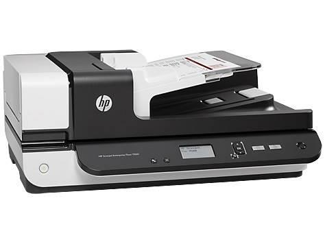 Image of Hp Scanjet Enterprise Flow 7500 Flatbed Scanner