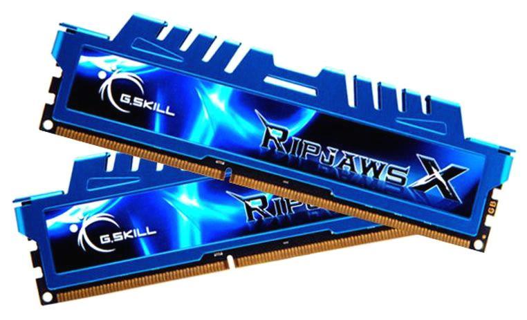 Image of G.skill Ripjawsx 16gb (2x 8gb) Ddr3 2400mhz Memory F3-2400c11d-16gxm