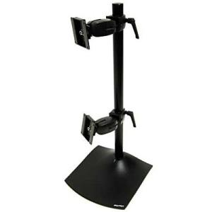 """Image of Ergotron Ds100 Dual Lcd Display Vertical Desk Stand - Supports Up To 24"""" Display 33-091-200"""