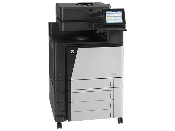 Image of Hp Laserjet Enterprise Flow M880z Multifunction Colour Duplex Laser Printer