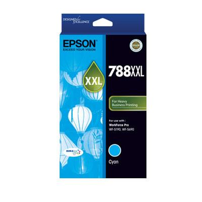 Image of Epson 788xxl Cyan Ink Cart 4000 Pages Cyan