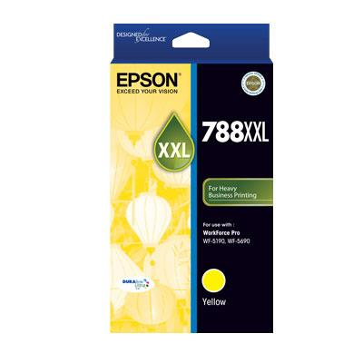 Image of Epson 788xxl Yellow Ink Cart 4000 Pages Yellow