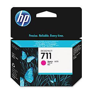 Image of Hp 711 29-ml Magenta Ink Cartridge Cz131a