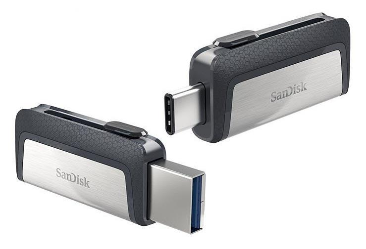 Image of Sandisk Sdddc2-064g-g46 64gb Ultra Dual Drive Type C