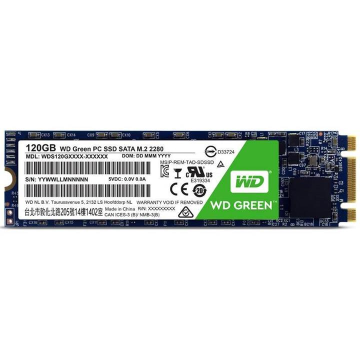 Image of Wd Green 120gb 3d Nand M.2 Ssd Wds120g2g0b