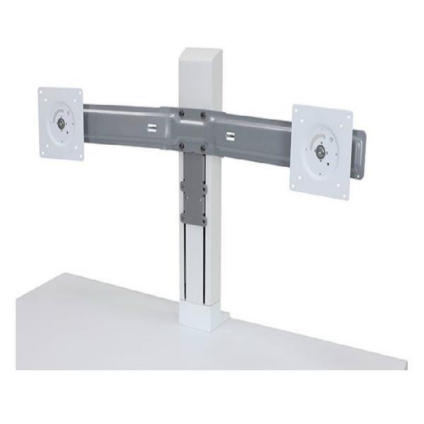 Image of Ergotron 97-934-062 Workfit Dual Monitor Kit White