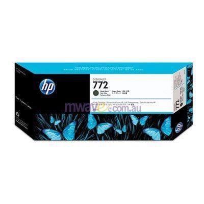 Image of Hp 772 Print Cartridge 1 X Matte Black (cn635a)
