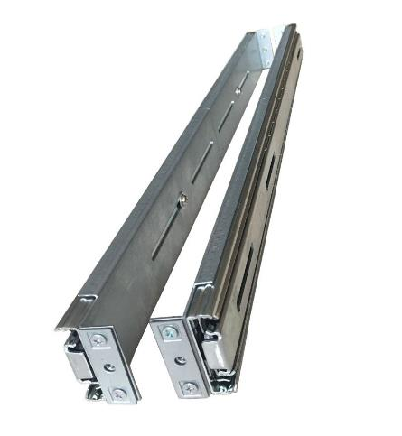 Image of Tgc Chassis Accessory Metal Slide Rails 500mm For Selected Tgc Chassis