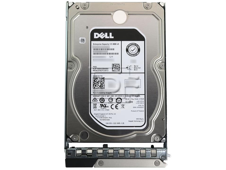 "Image of Dell 400-atkn 4tb 3.5"" Sata 7.2k Rpm, 6gbps, Hot Plug Hard Drive - (suits T440 Only)"