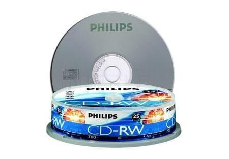 Image of Philips Cd-rw / 12x / 10 Cake / Rewritable 442200