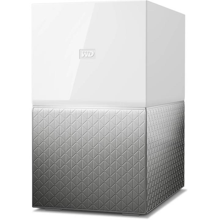 Image of Wd My Cloud Home Duo 4tb (2x 2tb) Nas 1.4ghz Dual-core 1gb Ram Wdbmut0040jwt