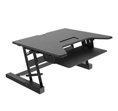 Image of Vision Mounts Vm-desk-ld02 Black Height Adjustable Sit & Stand Desk