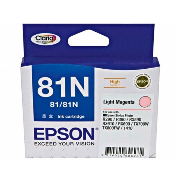 Image of Epson 81n - High Capacity Claria - Light Magenta Ink Cartridge
