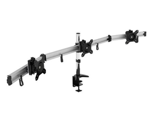 Image of Vision Mounts Vm-lcd-mp230c-ex Three Monitor Desk Mount