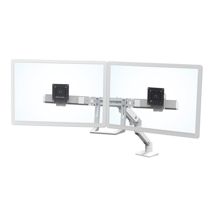Image of Ergotron 45-476-216 Hx Desk Dual Monitor Arm White
