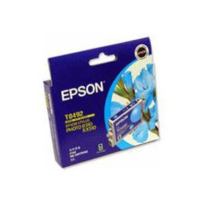 Image of Epson T0492 Cyan Ink Cart 430 Pages Cyan C13t049290