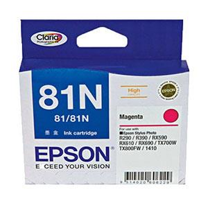 Image of Epson 81n - High Capacity Claria - Magenta Ink Cartridge