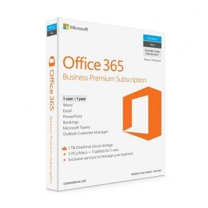 Image of Microsoft Office 365 2019 Business Premium 1 Year Licence - Digital Download