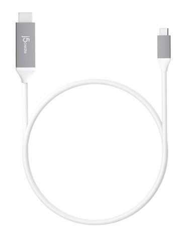 Image of J5create Jcc153g Usb-c Type-c To 4k Hdmi 1.9m Cable