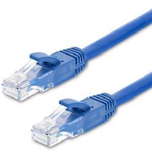 Image of Astrotek Cat6 Cable 30m - Blue Color Premium Rj45 Ethernet Network Lan Utp Patch Cord 26awg-cca Pvc Jacket