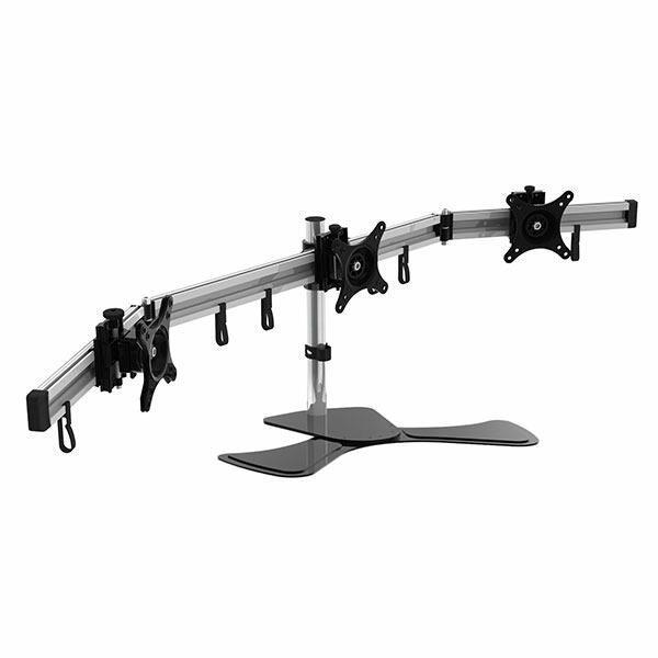 Image of Visionmounts Vm-lcd-mp230st-ex Three Monitor Desk Mount