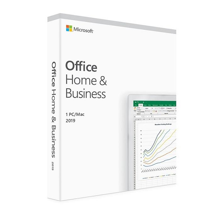 Image of Microsoft Office 2019 Home And Business - Medialess Retail Pack T5d-03251 Genuine Au Stock