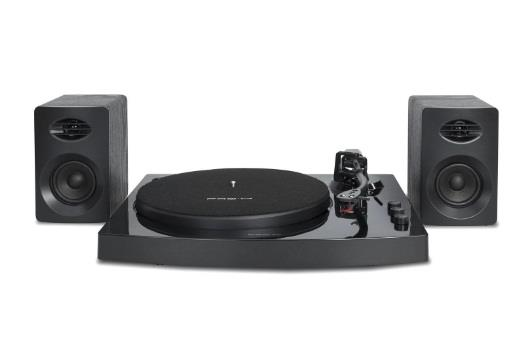 Image of Mbeat Pro-m Bluetooth Stereo Turntable System (black)