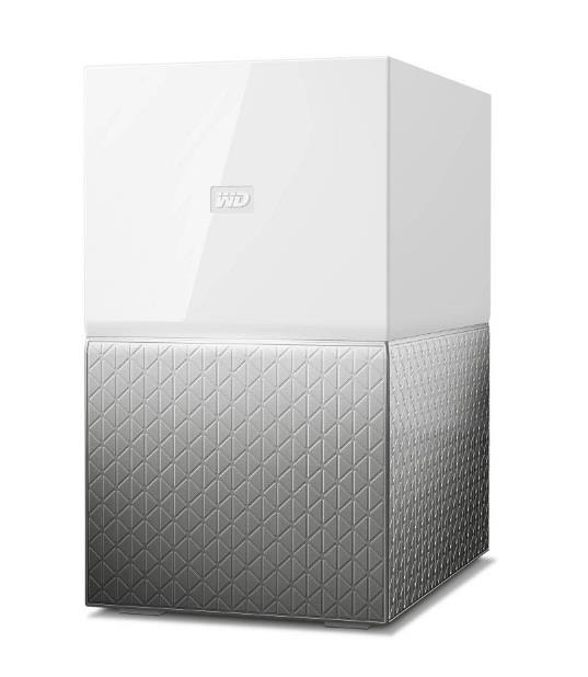 Image of Wd My Cloud Home Duo 20tb 2-bay Personal Cloud Wdbmut0200jwt