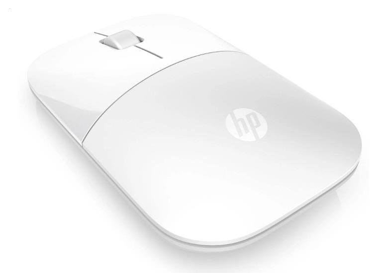 Image of Hp V0l80aa Z3700 Wireless Mouse White Glossy