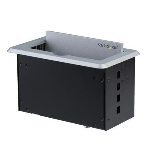 Image of Startech Conference Table Connectivity Box For A/v - 4k Box4hdecp2