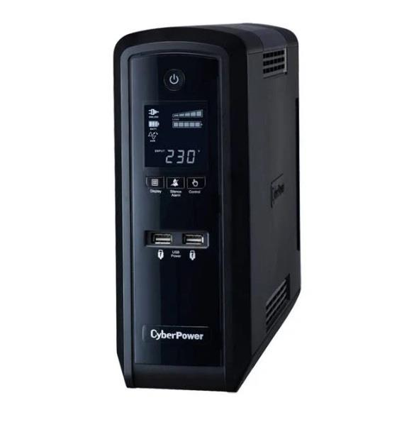 Image of Cyberpower Cp1300epfclcd Pfc Sinewave Series 1300va Tower Ups With Lcd